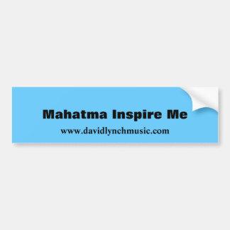 Mahatma Inspire Me Bumper Sticker