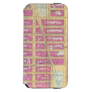 Mahattan, Nueva York 12 Funda Cartera Para iPhone 6 Watson