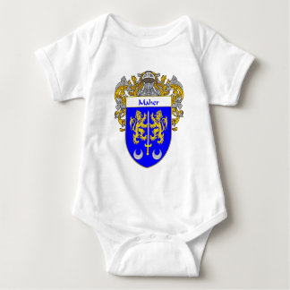 Maher Coat of Arms (Mantled) Baby Bodysuit