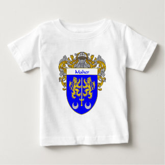 Maher Coat of Arms (Mantled) Baby T-Shirt