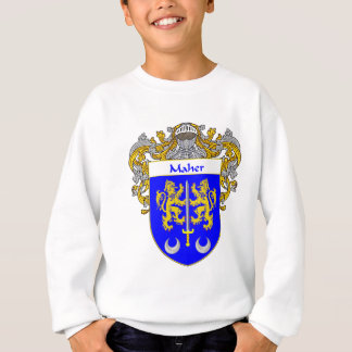 Maher Coat of Arms (Mantled) Sweatshirt