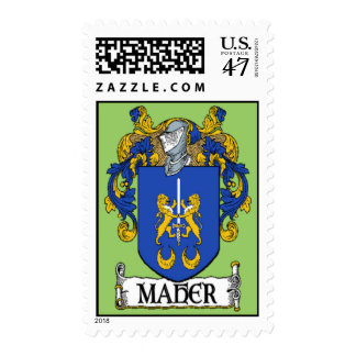 Maher Coat of Arms Postage Stamps