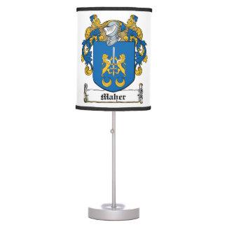 Maher Family Crest Desk Lamp