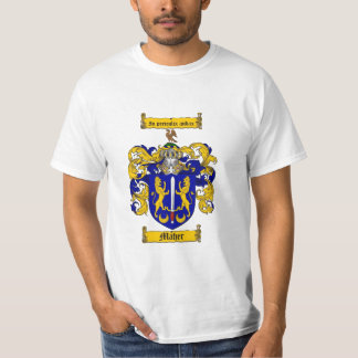 Maher Family Crest - Maher Coat of Arms T-Shirt
