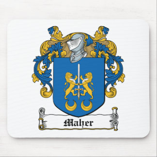 Maher Family Crest Mouse Pad