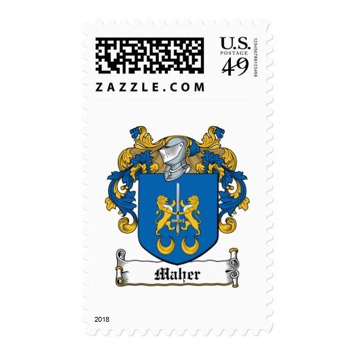 Maher Family Crest Stamp