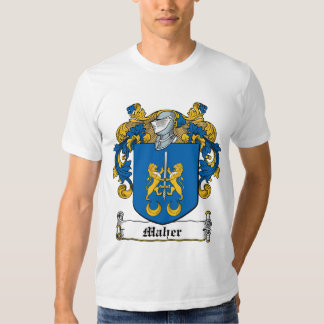 Maher Family Crest T Shirt