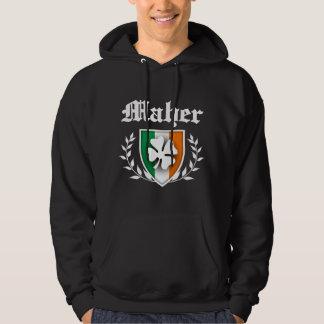 Maher Shamrock Crest Pullover