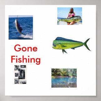 mahi1, fg, pescado, rgtdeg, shu, pesca ida póster