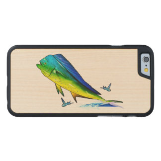 Mahi Mahi Carved Maple iPhone 6 Slim Case