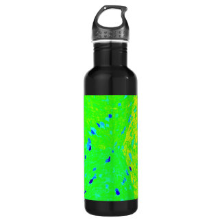 Mahi Mahi Dolphin Fish Art Colors 24oz Water Bottle