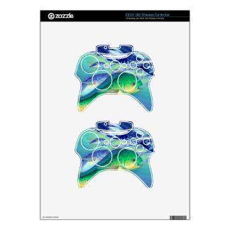 Mahi Mahi (Dolphin Fish) chasing Flying Fish Xbox 360 Controller Skin