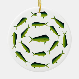 Mahi Mahi Fish - Dolphin - Dorado Ceramic Ornament