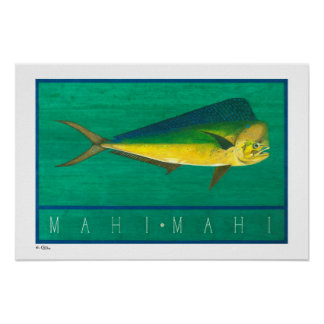 Mahi-Mahi Posters, Prints and Frames
