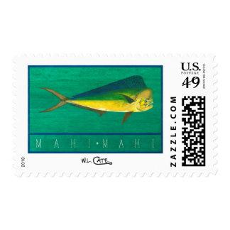 Mahi-Mahi U.S.P.S. Postage Stamps