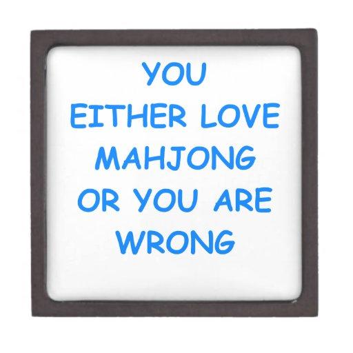 mahjong cajas de regalo de calidad