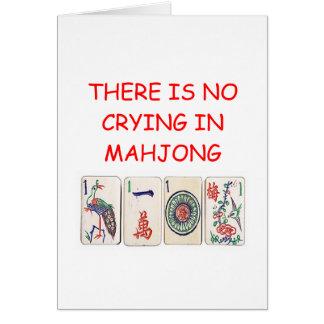 MAHJONG CARD