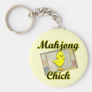 Mahjong Chick #2 Keychain