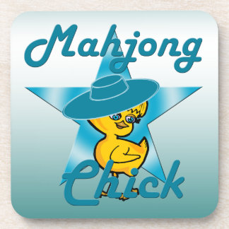 Mahjong Chick #7 Coaster
