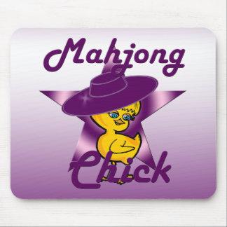 Mahjong Chick #9 Mouse Pad