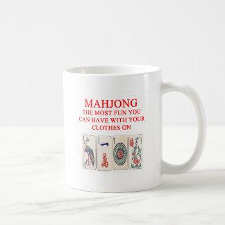 MAHJONG COFFEE MUG