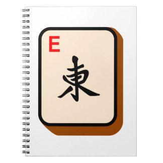 Mahjong del este libretas espirales