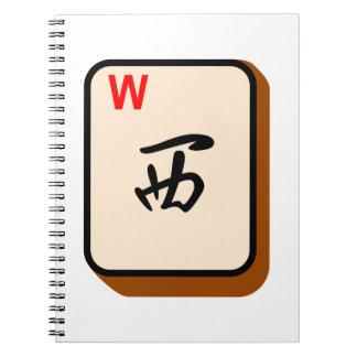 Mahjong del oeste note book