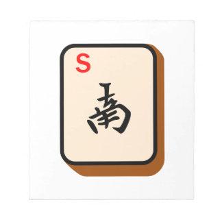 Mahjong del sur blocs de papel
