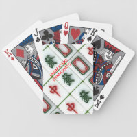 Mahjong-dragons Bicycle Playing Cards