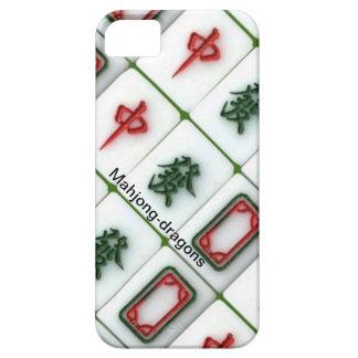 Mahjong-dragons iPhone 5 Case