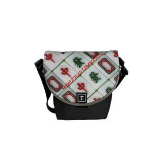 Mahjong-dragons Messenger Bag
