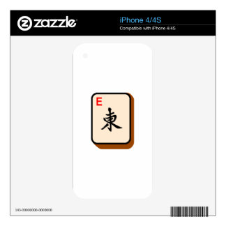 Mahjong East Skins For iPhone 4S