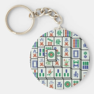 mahjong keychain