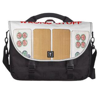 mahjong laptop commuter bag