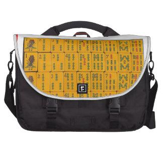 mahjong laptop bag