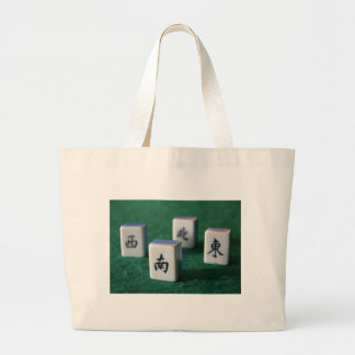 Mahjong Large Tote Bag