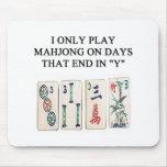 mahjong lover mouse mat