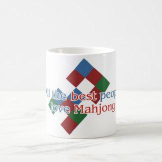 Mahjong morphing mug