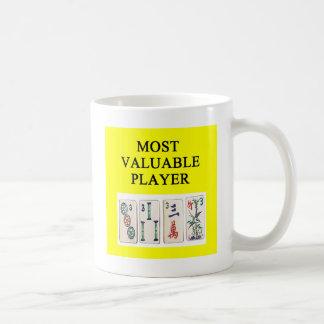 MAHJONG most valuable player Coffee Mug