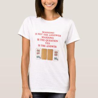 mahjong player design T-Shirt