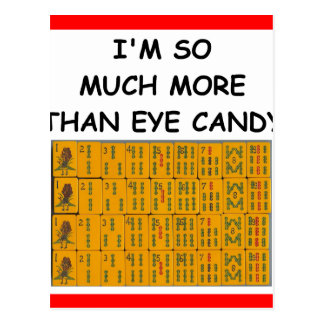 mahjong postales