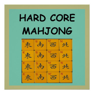 mahjong póster