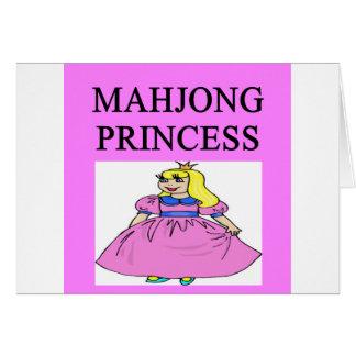 MAHJONG princess Card