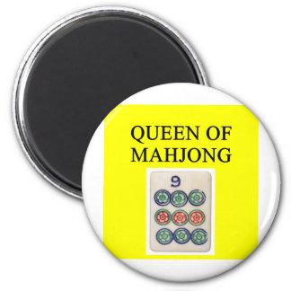 MAHJONG queen Refrigerator Magnet