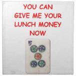 mahjong servilletas de papel