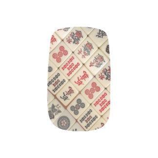 Mahjong tiles minx ® nail art