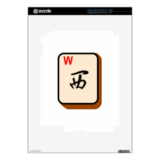 Mahjong West Decals For The iPad 2