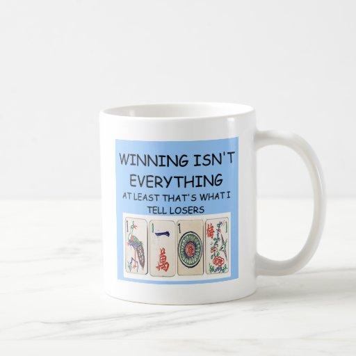MAHJONG winner Coffee Mug