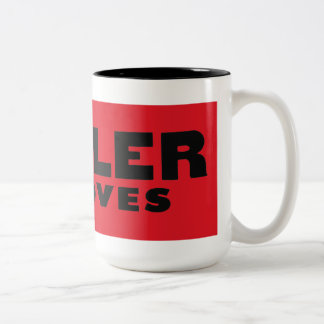 Mahler acanala la taza