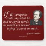 Mahler en componer tapete de ratón